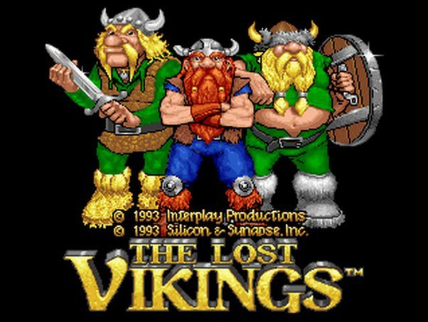 The Lost Vikings Sega Mega Drive